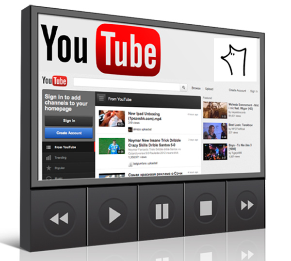 Configurar reproductor youtube