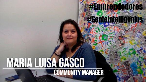 El talento de Maria Luisa Gasco en Gente Intelligenius