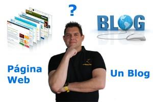 es mejor un blog o una pagina web