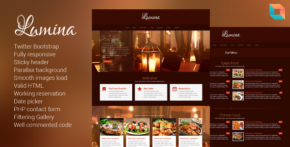 Tema Lumina de Themeforest