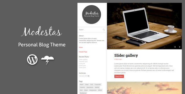 modestas themeforest wordpress