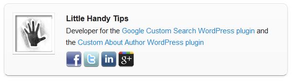 plugin custom about author