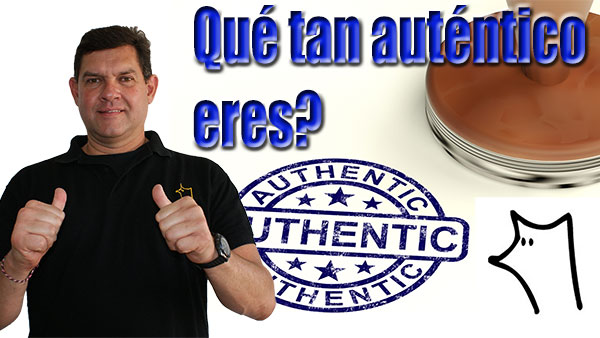 Que tan autentico eres? - Sr Intelligenius