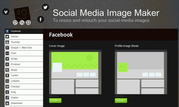 Social Media Imagen Maker