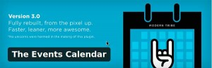 The events calendar wordpress