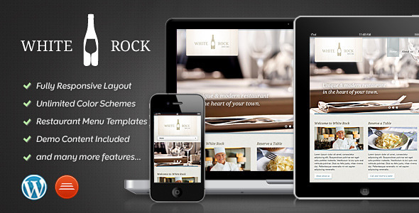 Tema White Rock WordPress