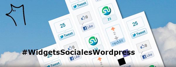 Widgets Sociales WordPress
